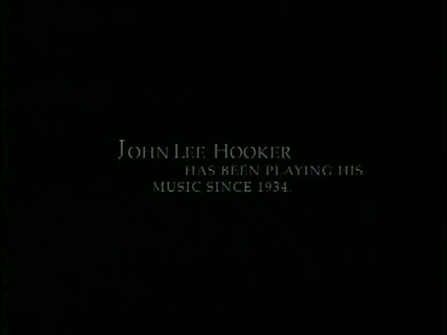 John Lee Hooker- A Masterful Short Film Study!