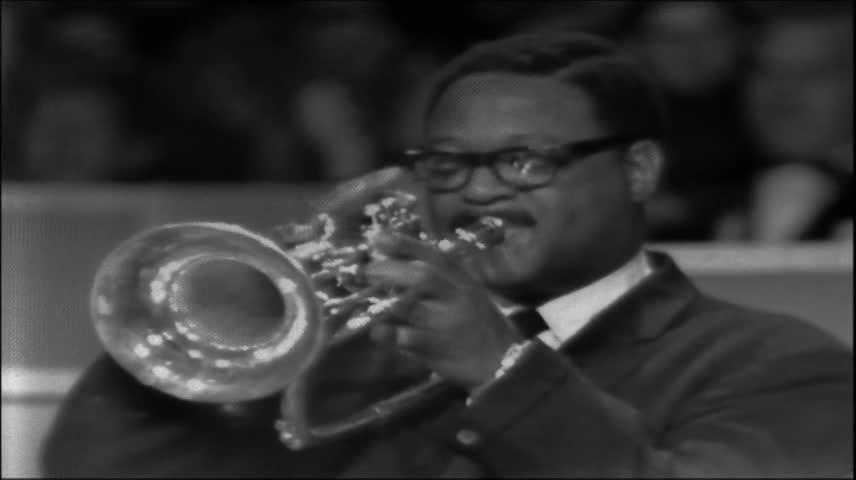 "Clark Terry - ""A Lost 16mm Reel"" - It Can Be Argued That Next To Louis Armstrong, Clark Terry is the Greatest Jazz Trumpet Player of All Time- The New Documentary ""Keep On Keepin' On"" is Hard Evidence Supporting Such a Conclusion- Dig the Beauty of CT!"