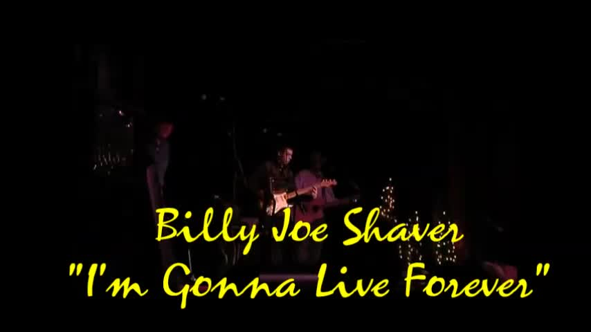 "Billy Joe Shaver - August 16, 1939 – October 28, 2020 - With Gratitude and Respect - ""I'm Gonna Live Forever"""