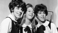 """Dig This With The Splendid Bohemians""  - The Shangri-las - Bill Mesnik and and Rich Buckland Give This Famed 60's Girl Group A Great Big Kiss As They Remember These Leaders Of An Exclusive Feminine Pack - Take A Walk In The Sand With Us!"