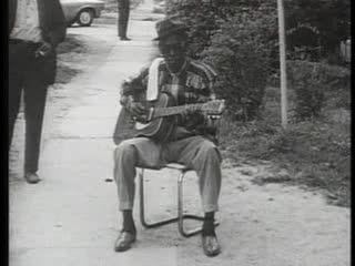 "Sam ""Lightning"" Hopkins- The King of Blues / Rock- Early Street and Bar Performances- 1960"