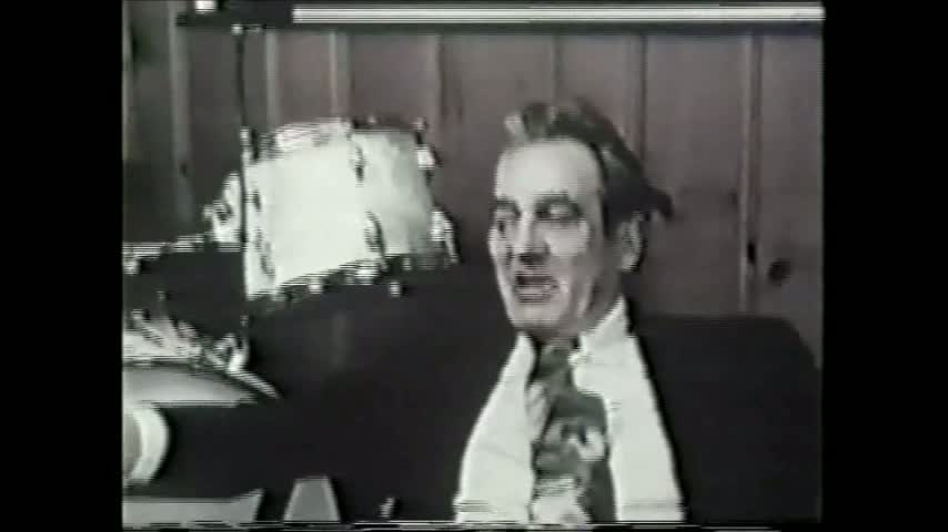 Gene Krupa- The Creator Of The True Big Beat!- Gene Talks About His Drug Arrest And Performs Live On The Steve Allen Program, 1959.